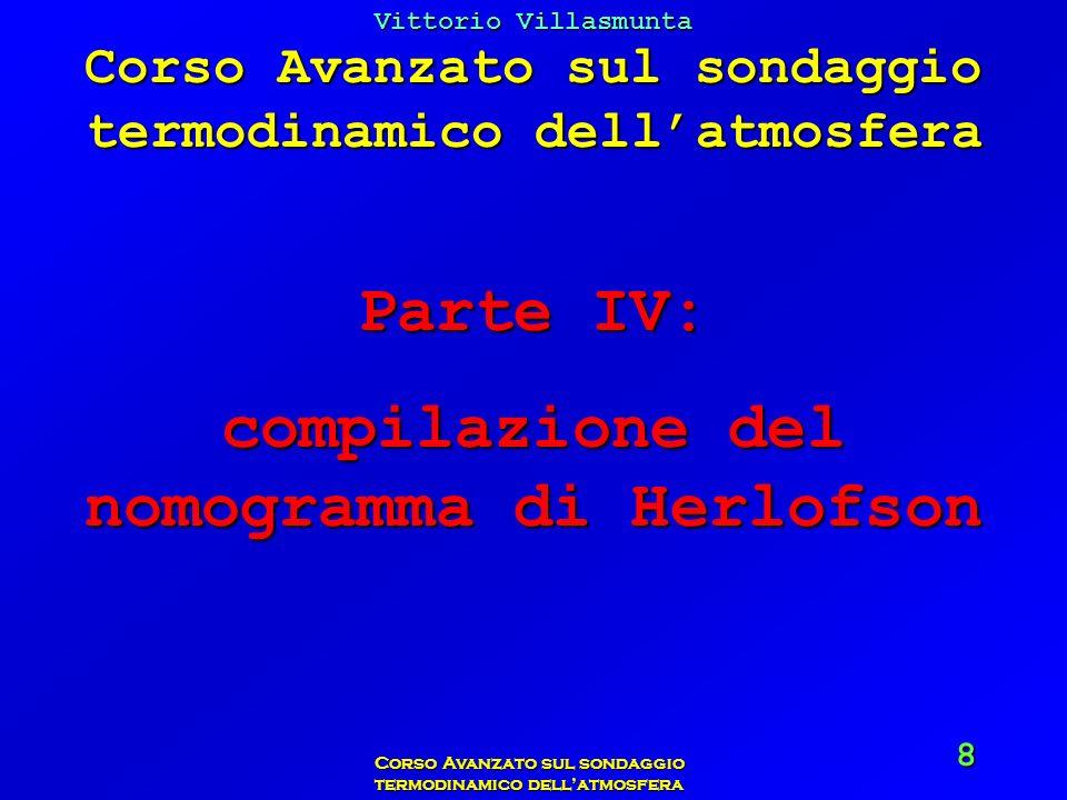 Parte IV: compilazione del nomogramma di Herlofson