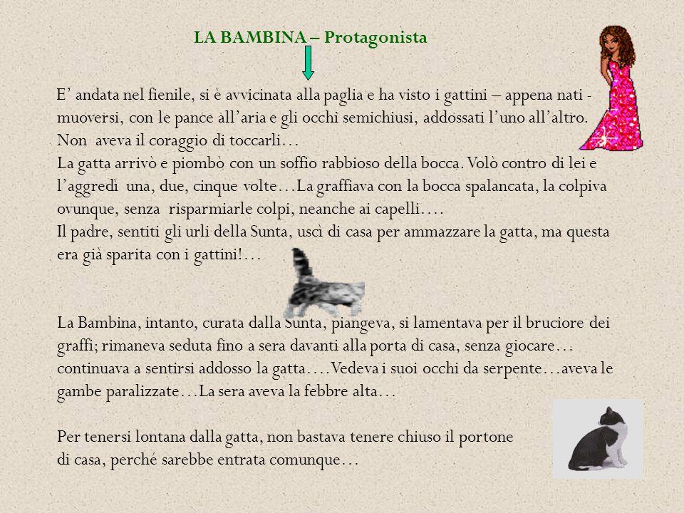 LA BAMBINA – Protagonista