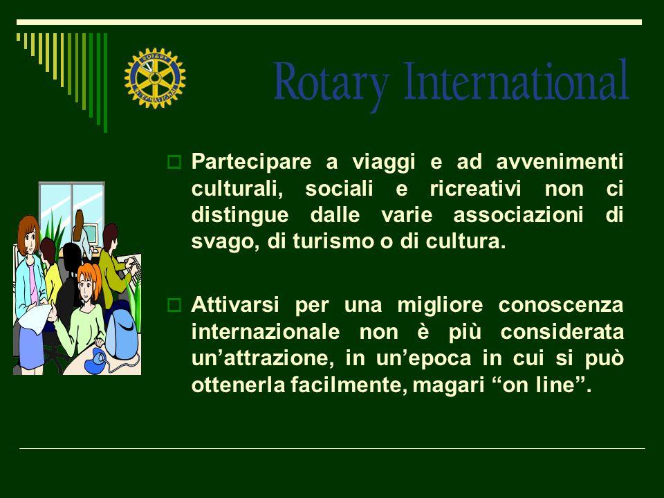 Partecipare a viaggi e ad avvenimenti culturali, sociali e ricreativi non ci distingue dalle varie associazioni di svago, di turismo o di cultura.