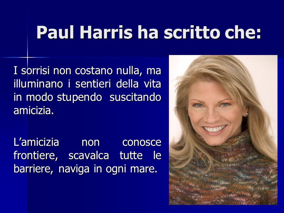 Paul Harris ha scritto che: