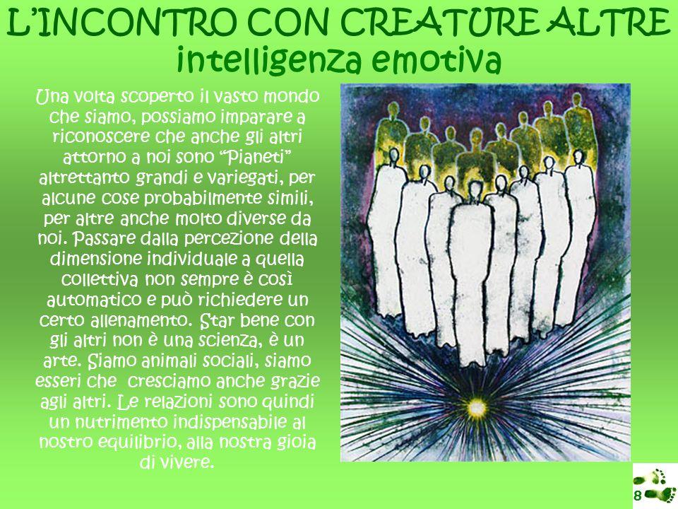 L'INCONTRO CON CREATURE ALTRE intelligenza emotiva