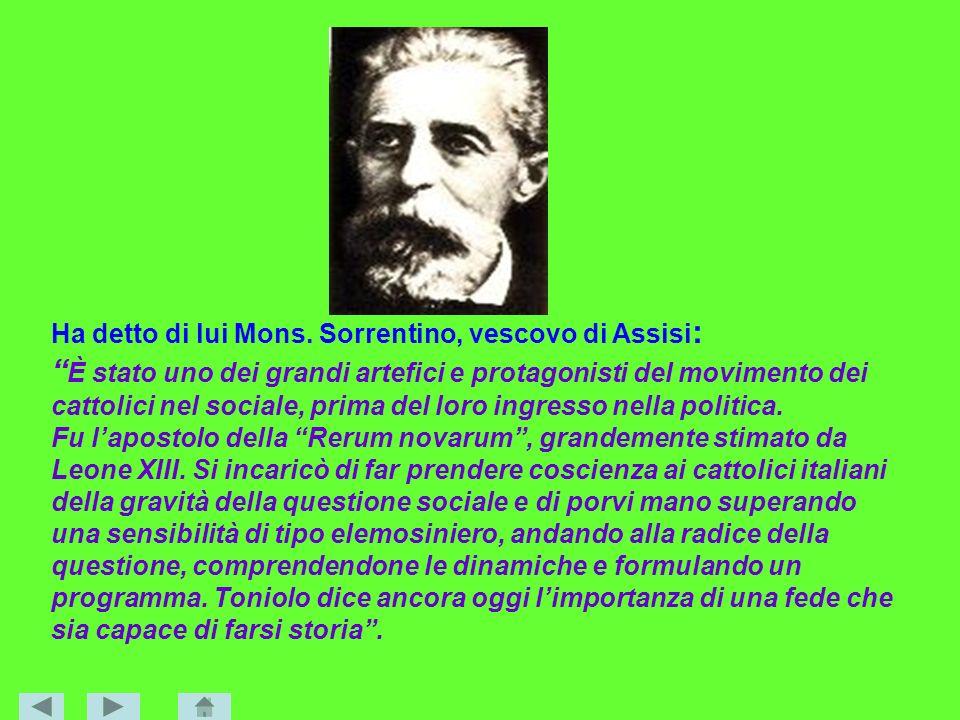 Ha detto di lui Mons. Sorrentino, vescovo di Assisi: