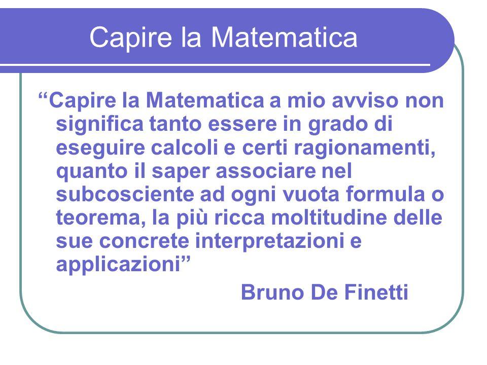 Capire la Matematica