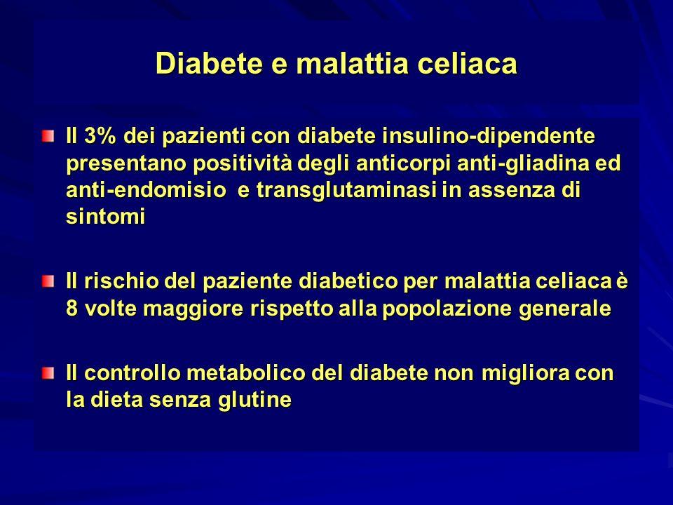 Diabete e malattia celiaca