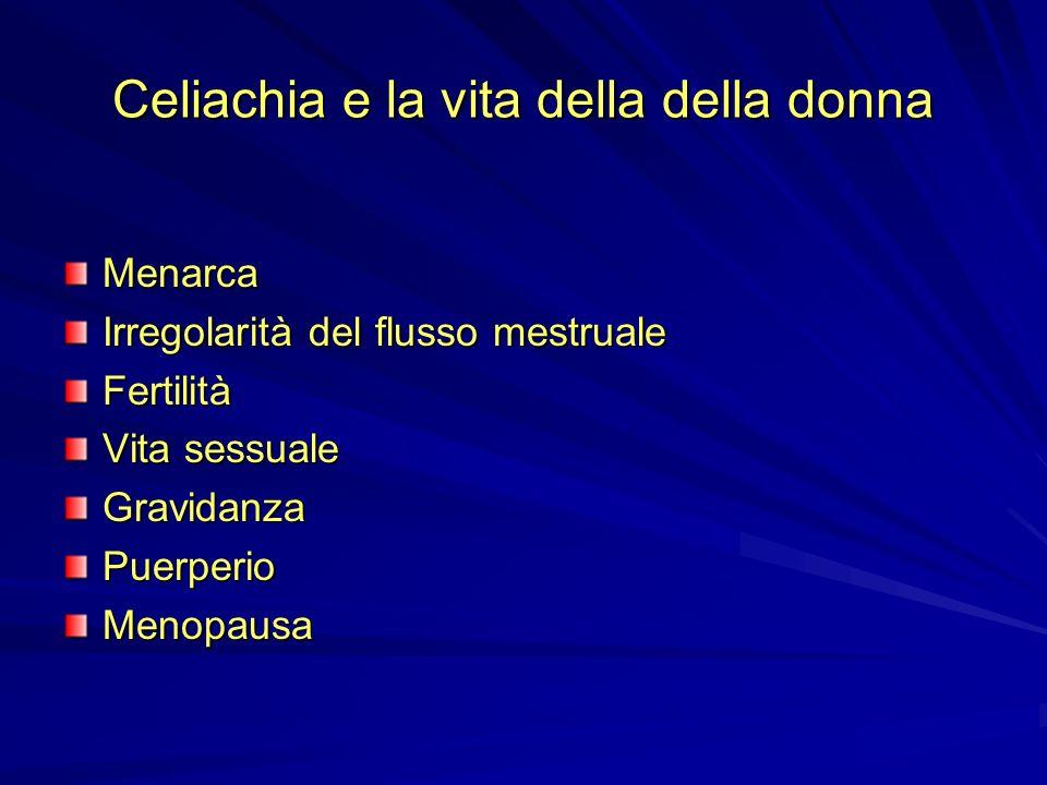Celiachia e la vita della della donna