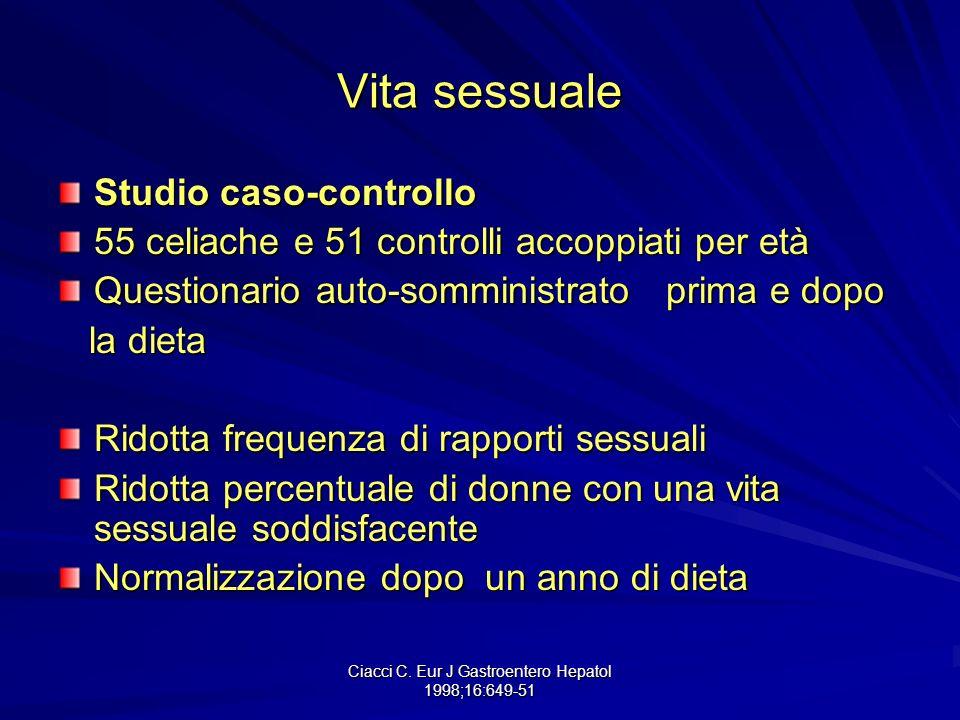 Ciacci C. Eur J Gastroentero Hepatol 1998;16:649-51