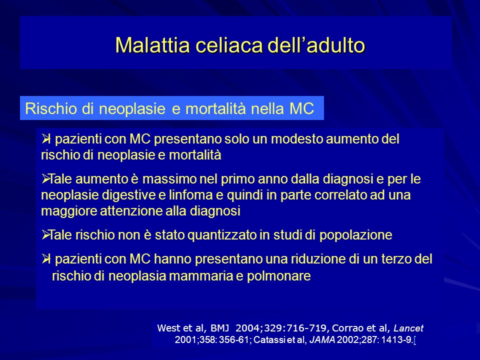Malattia celiaca dell'adulto
