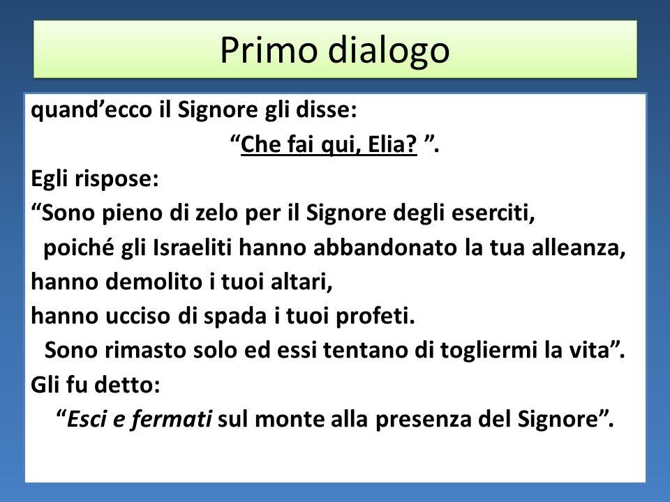 Primo dialogo