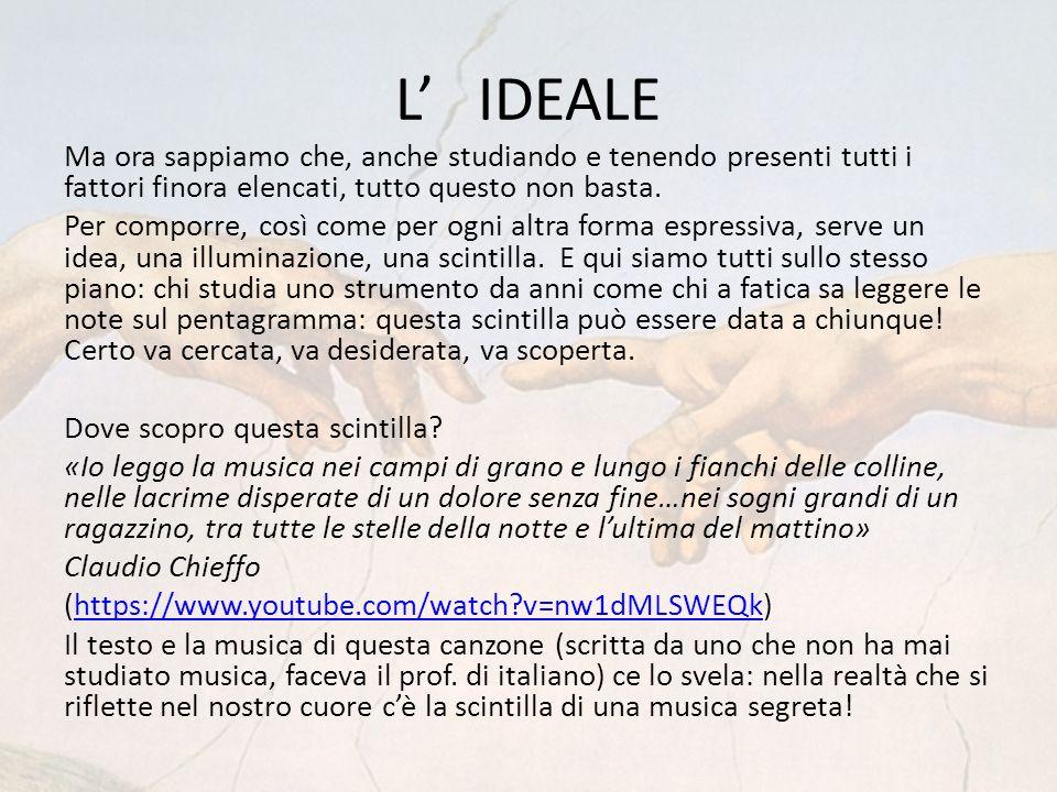 L' IDEALE