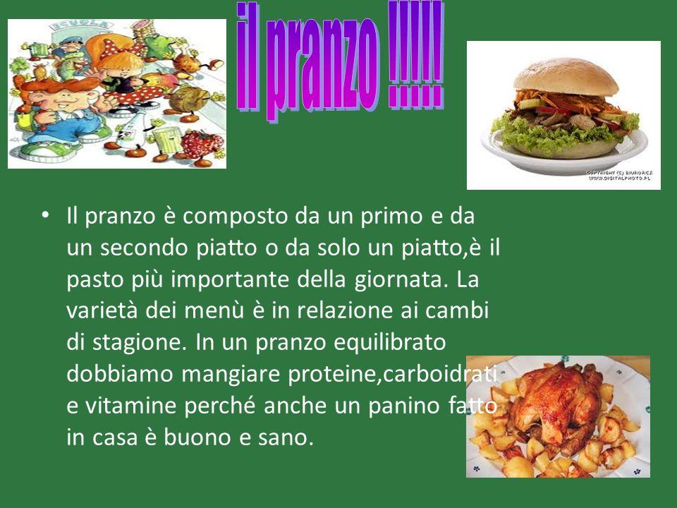 il pranzo !!!!!