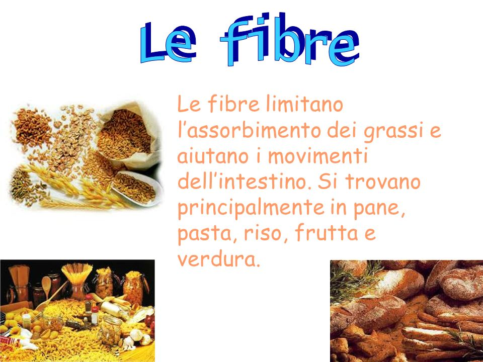 Le fibre