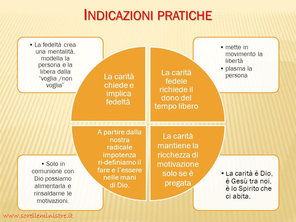 Indicazioni pratiche www.sorelleministre.it