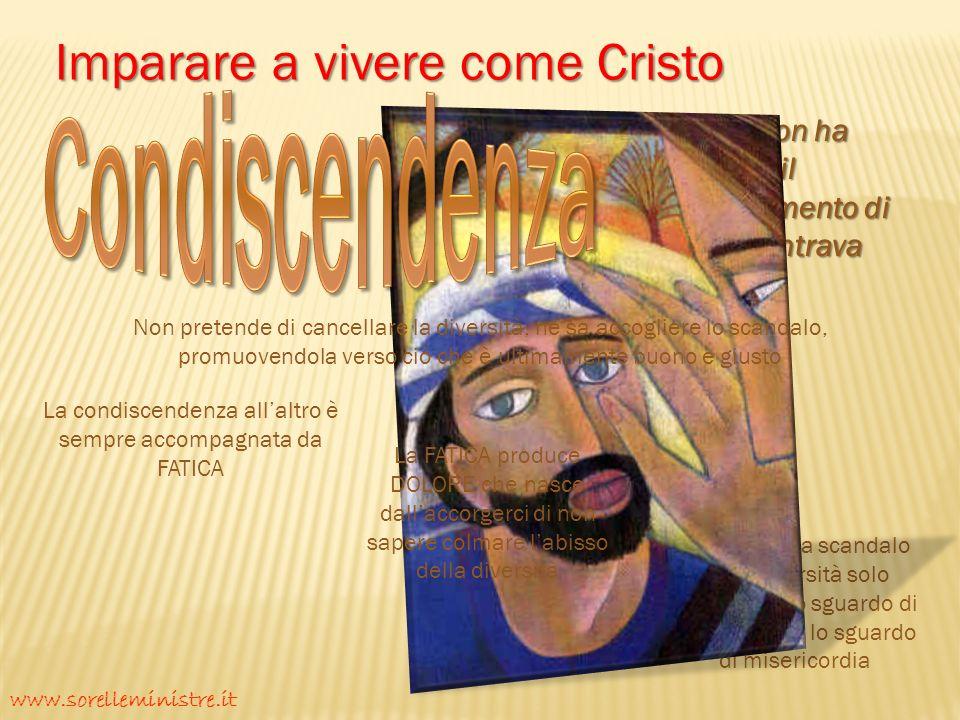 Condiscendenza Imparare a vivere come Cristo