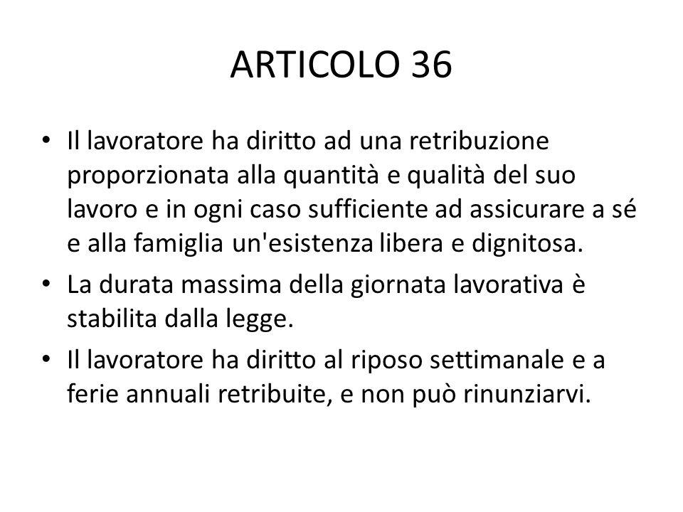 ARTICOLO 36