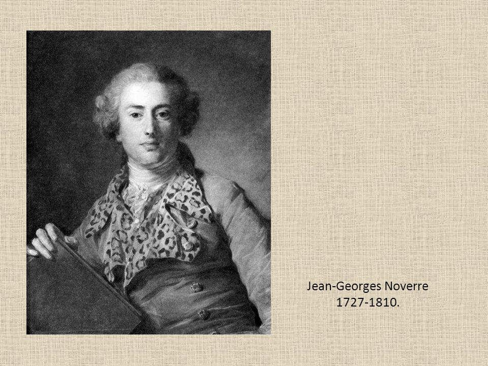 Jean-Georges Noverre 1727-1810.
