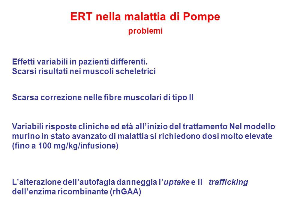 ERT nella malattia di Pompe