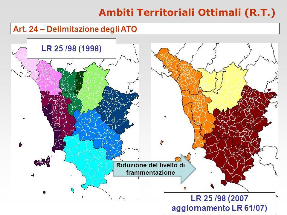 Ambiti Territoriali Ottimali (R.T.)