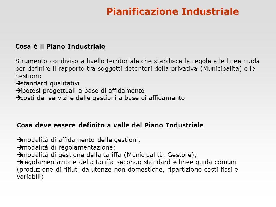 Pianificazione Industriale