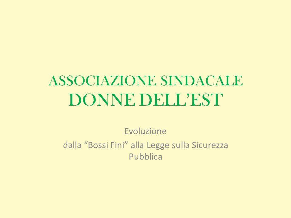ASSOCIAZIONE SINDACALE DONNE DELL'EST