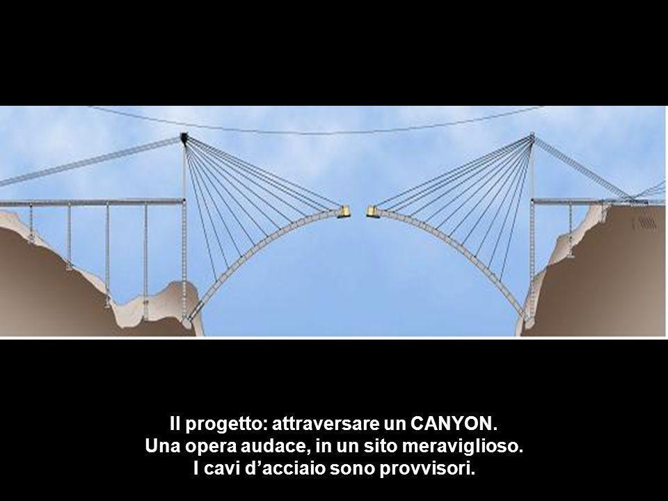 Il progetto: attraversare un CANYON.