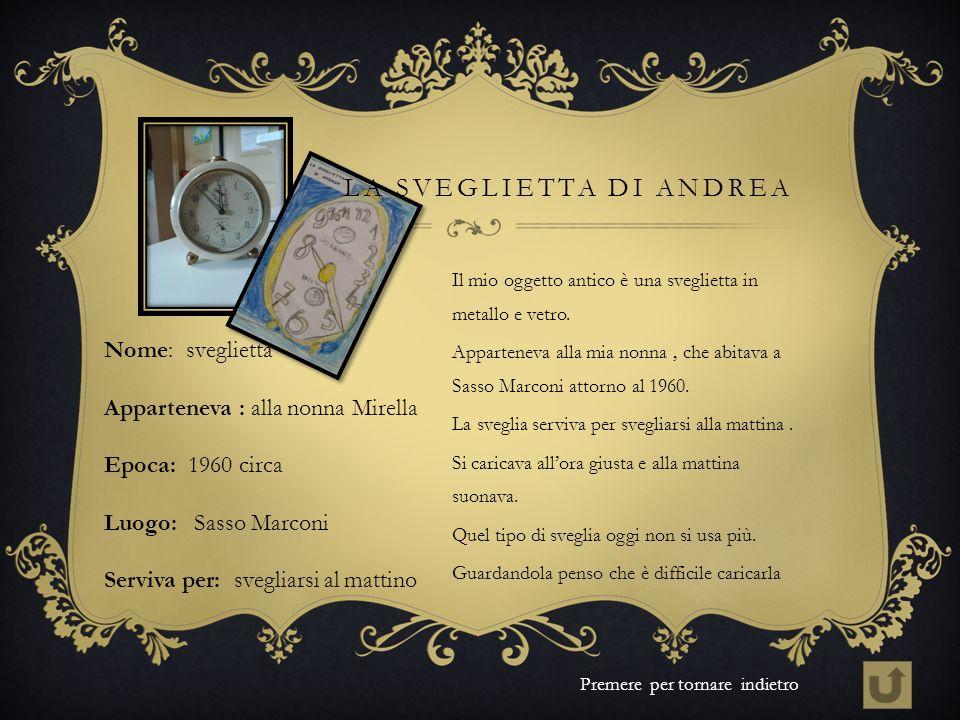 La sveglietta di Andrea