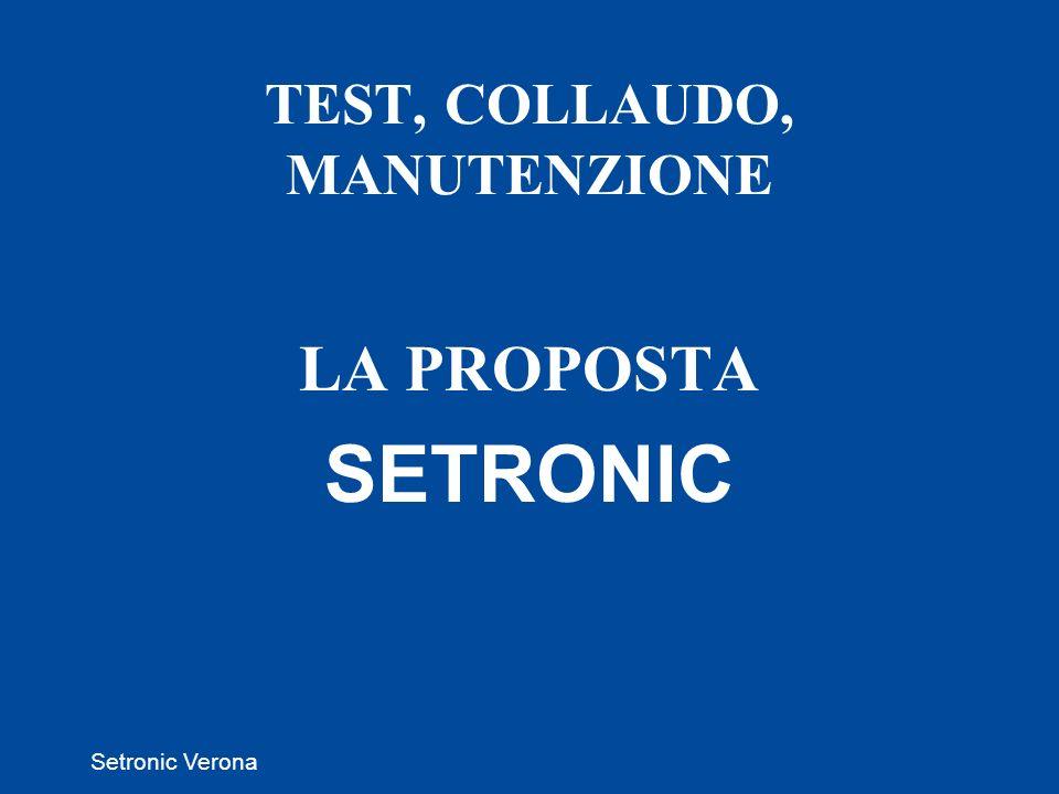 TEST, COLLAUDO, MANUTENZIONE