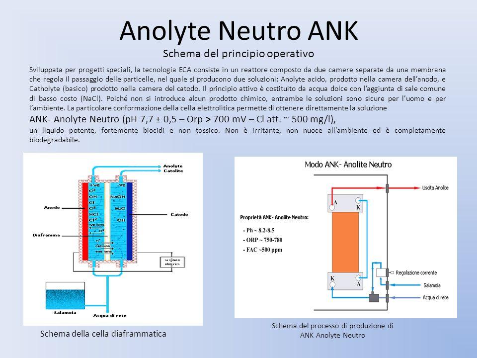 Anolyte Neutro ANK Schema del principio operativo