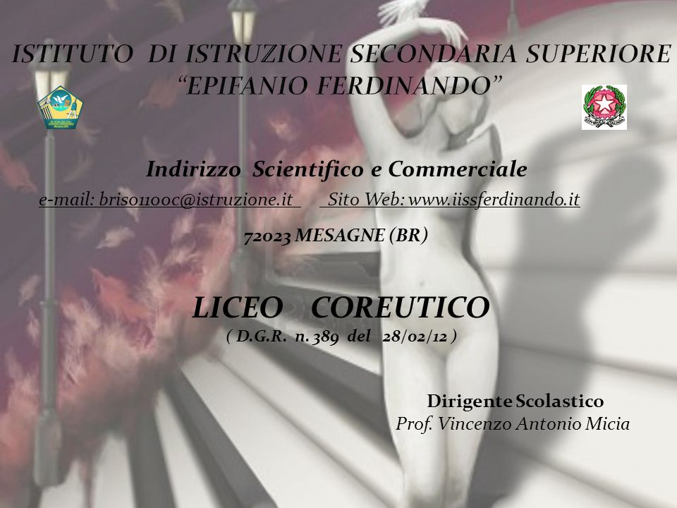 ISTITUTO DI ISTRUZIONE SECONDARIA SUPERIORE EPIFANIO FERDINANDO