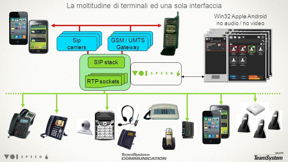 La moltitudine di terminali ed una sola interfaccia