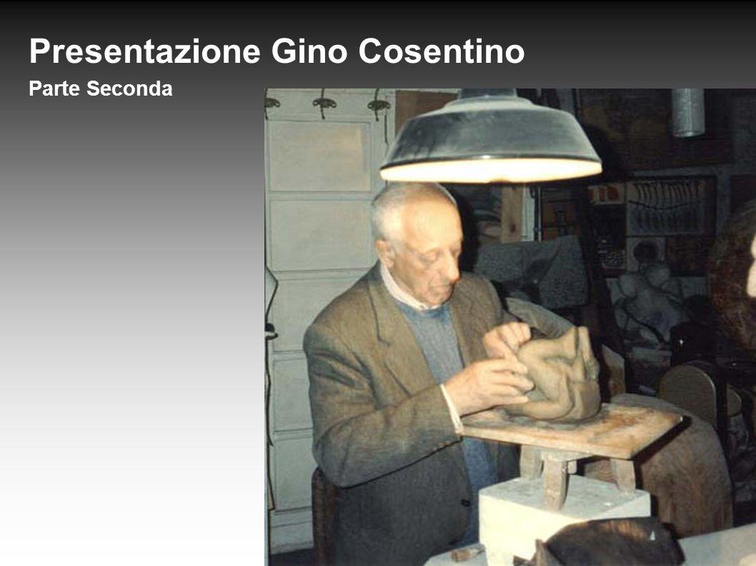 Presentazione Gino Cosentino