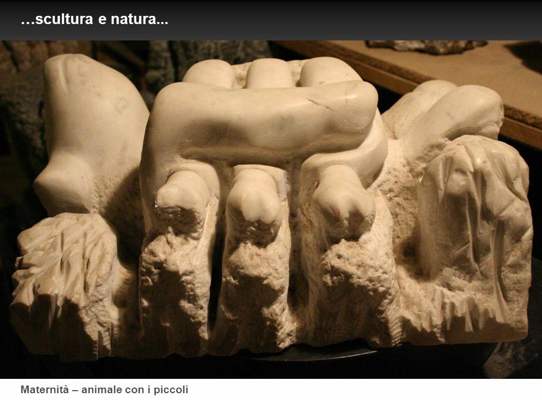 …scultura e natura... Maternità – animale con i piccoli