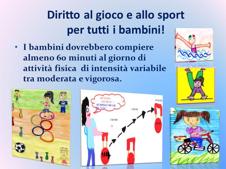 Diritto al gioco e allo sport per tutti i bambini!