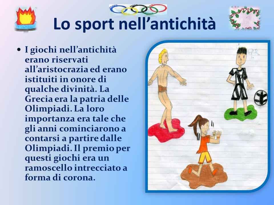 Lo sport nell'antichità