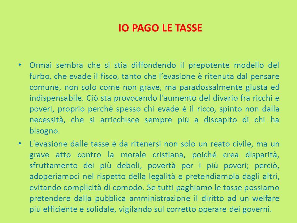 IO PAGO LE TASSE