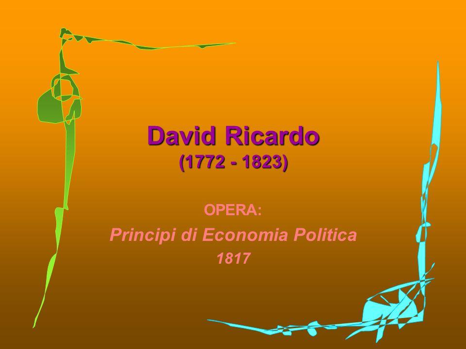 OPERA: Principi di Economia Politica 1817