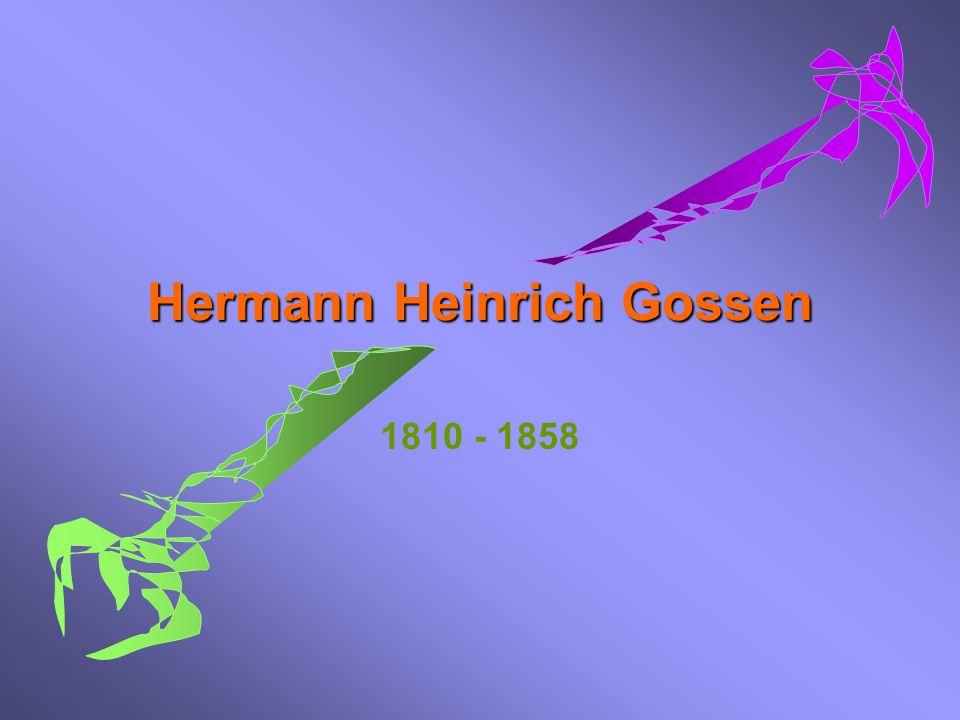 Hermann Heinrich Gossen
