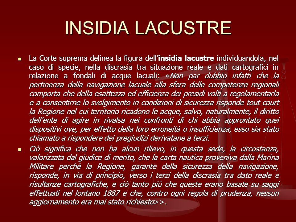 INSIDIA LACUSTRE