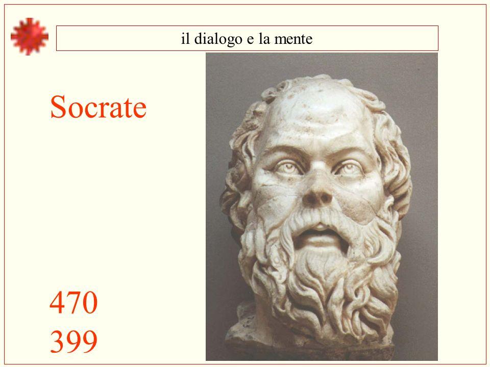 il dialogo e la mente Socrate 470 399