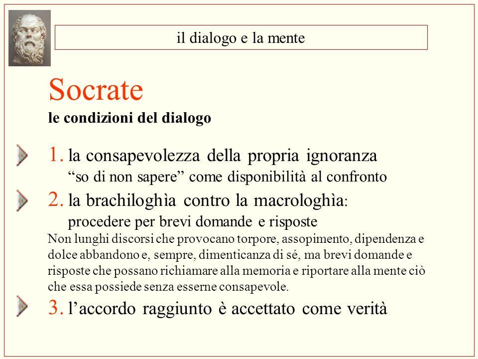 Socrate 1. la consapevolezza della propria ignoranza