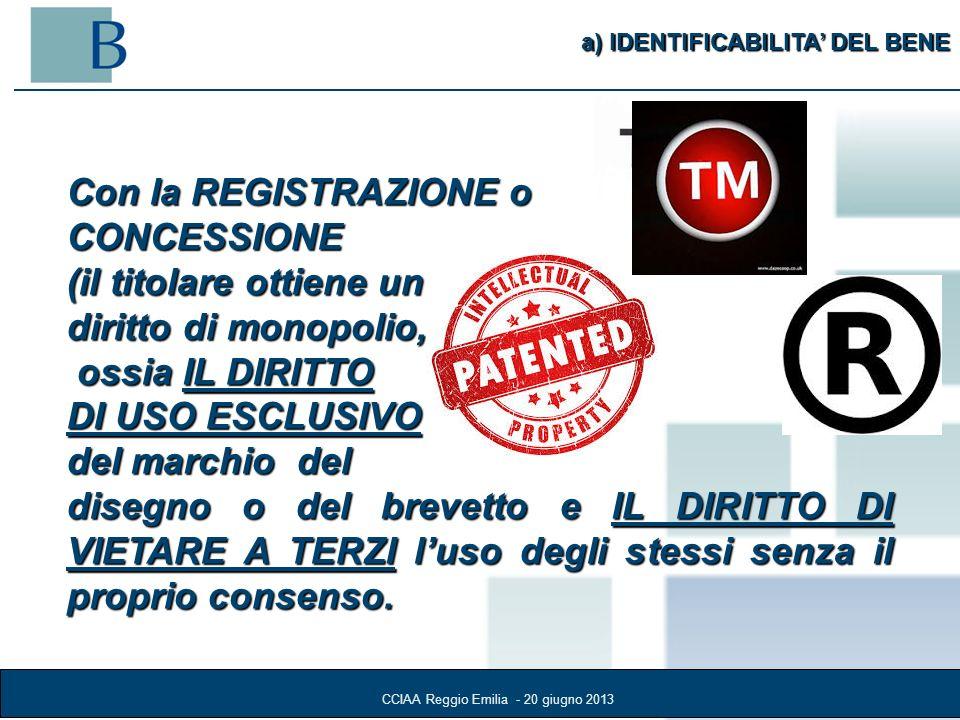 CCIAA Reggio Emilia - 20 giugno 2013