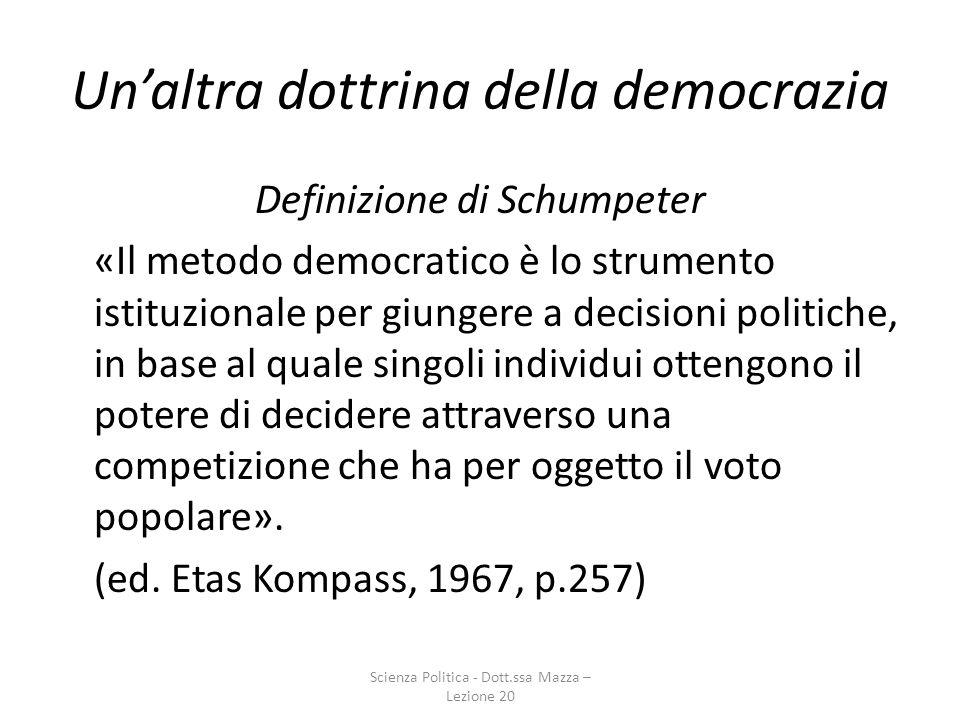 Un'altra dottrina della democrazia