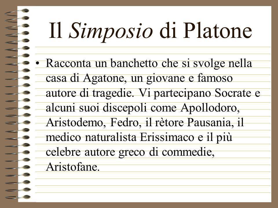 Il Simposio di Platone