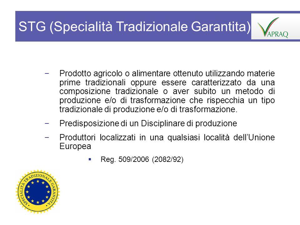 STG (Specialità Tradizionale Garantita)
