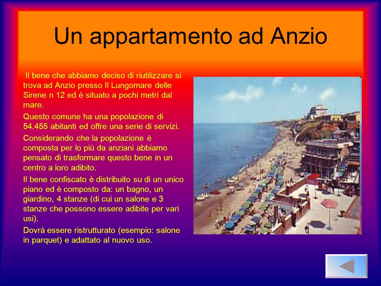 Un appartamento ad Anzio