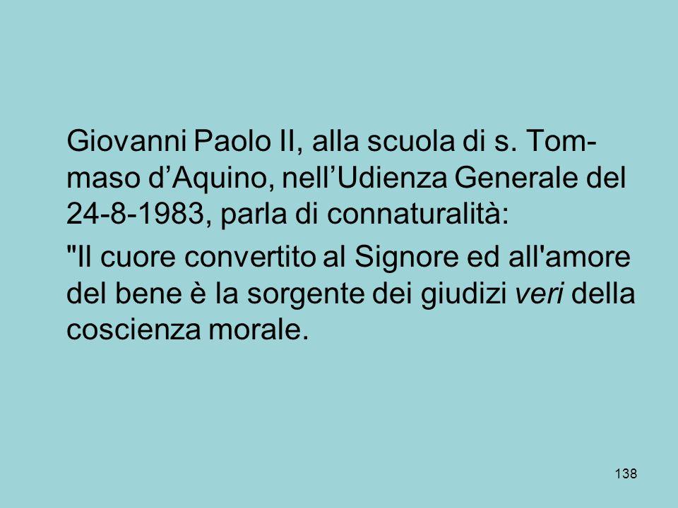 Giovanni Paolo II, alla scuola di s