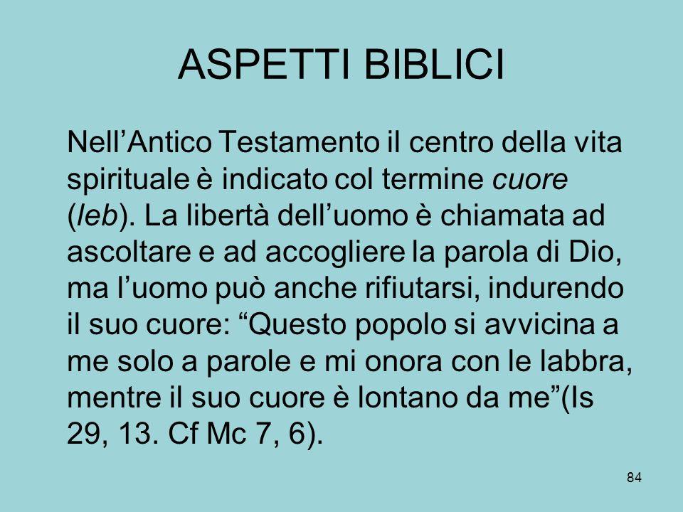 ASPETTI BIBLICI