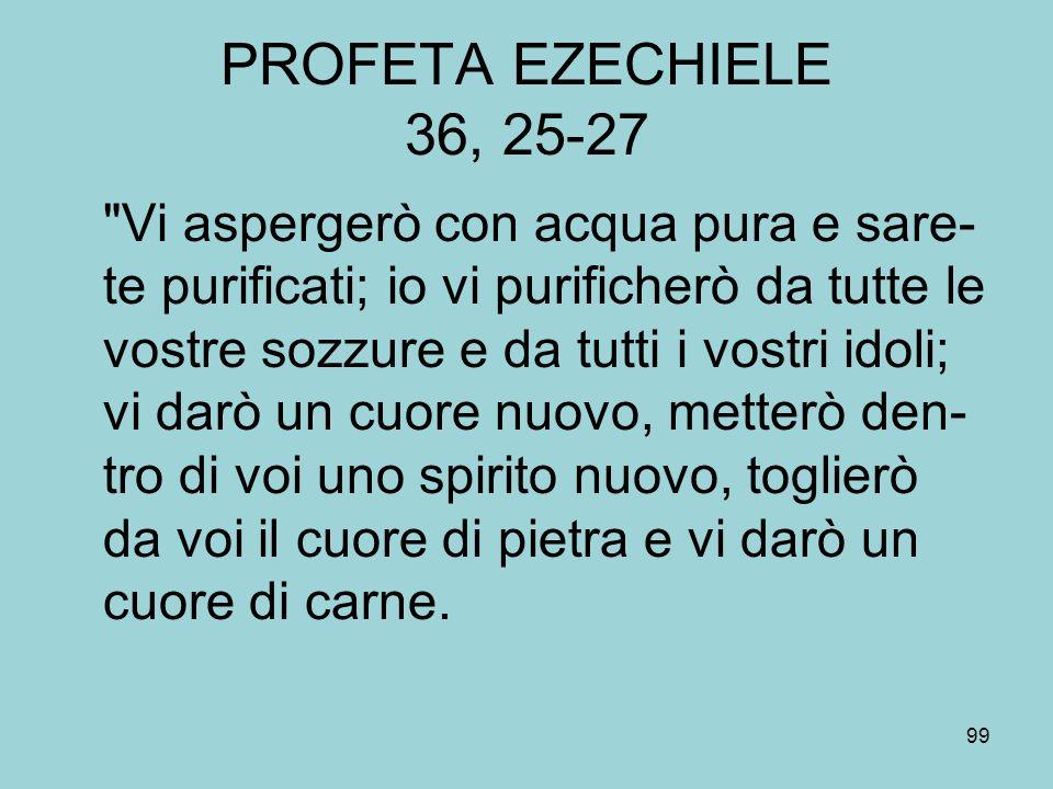 PROFETA EZECHIELE 36, 25-27