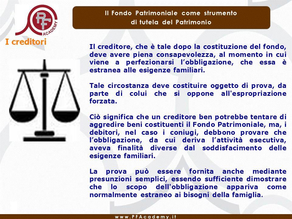 I creditori