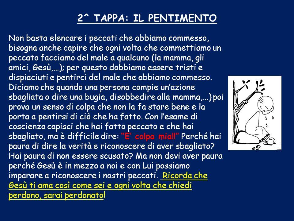 2^ TAPPA: IL PENTIMENTO