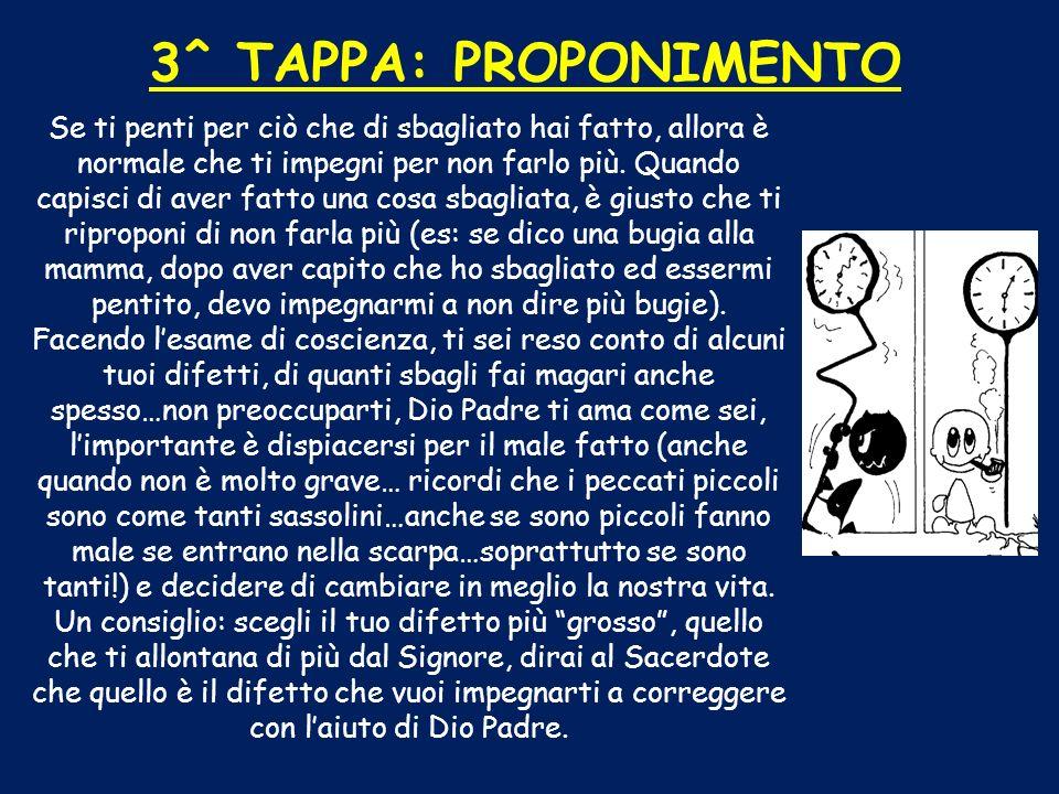 3^ TAPPA: PROPONIMENTO